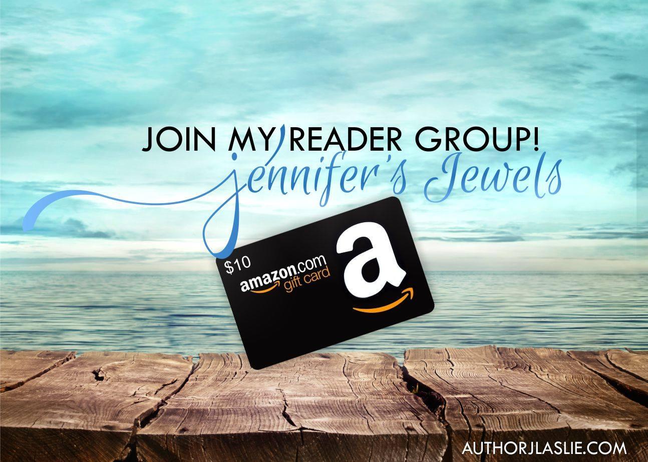 Join my FB reader group! | Author Jennifer Laslie